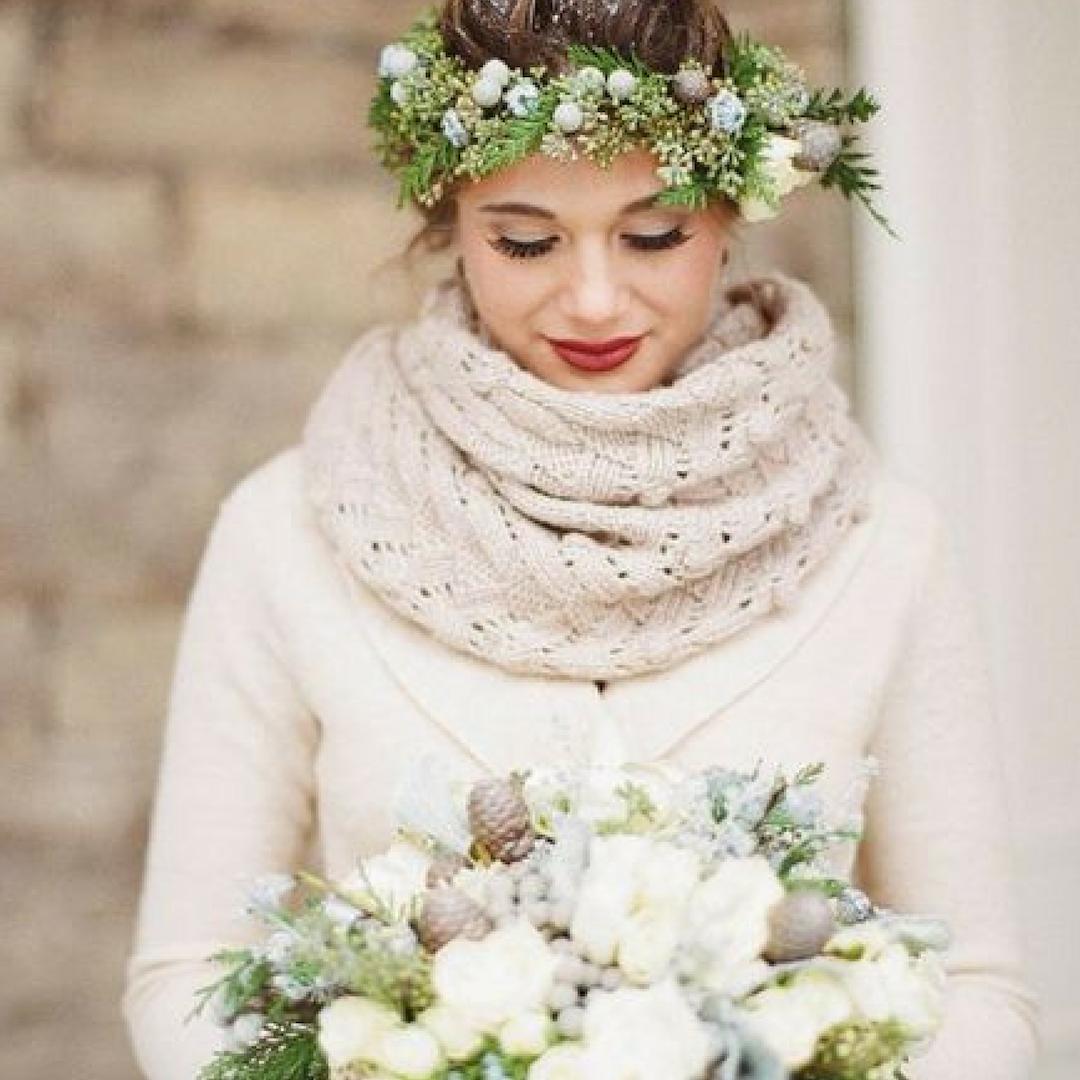 Rustic Winter thema bruiloft
