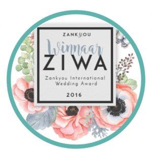 Nozza winnaar ZIWA 2016 wedding planner