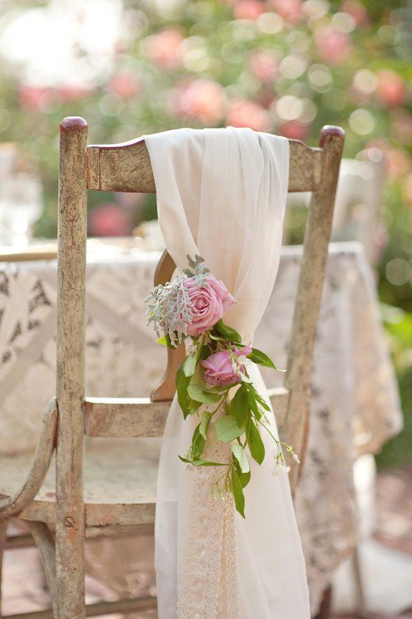 shabby chic thema bruiloft