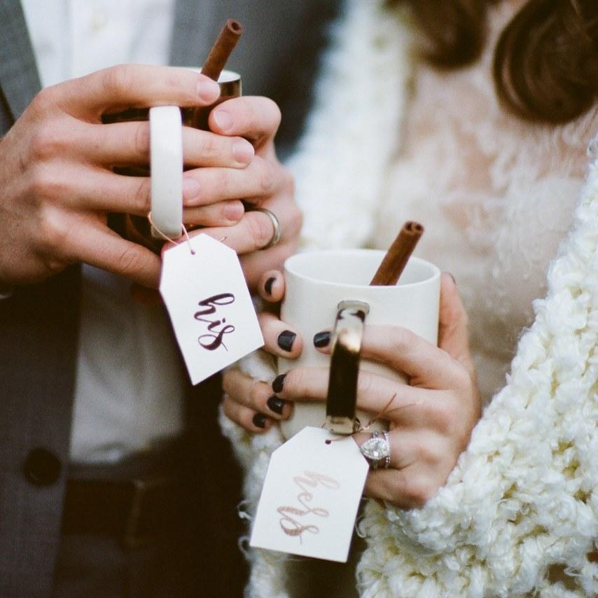 rustic winter thema voor je bruiloft