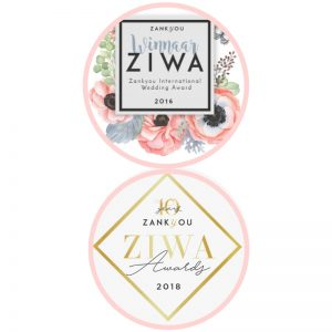 Nozza winnaar international wedding award ZIWA 2016 2018