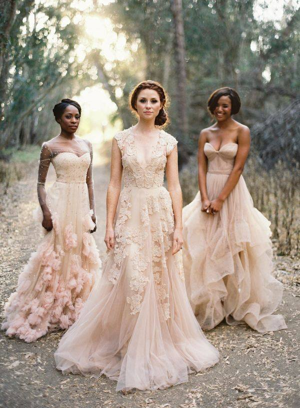 pink pampas them bruiloft